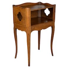 19th c. French Country Louis XV Style Side Table