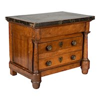19th Century French Empire Miniature Commode