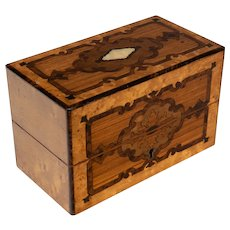 19th c. French Marquetry Perfume Box