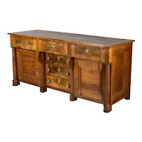 Country French Empire Enfilade or Sideboard