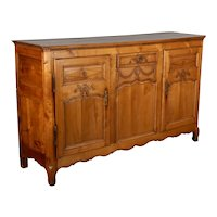 19th Century Country French Enfilade or Sideboard