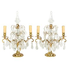 Louis XV Style French Girandoles Pair