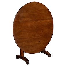 19th c. French Wine Tasting Table or Tilt-Top Table