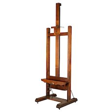 Large French Painter's Display Easel