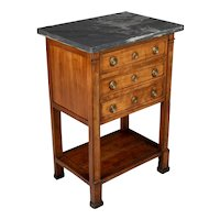 19th Century French Directoire Period Side Table
