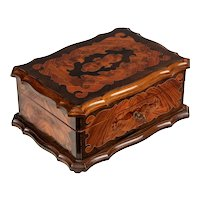 19th Century French Napoleon III Marquetry Box