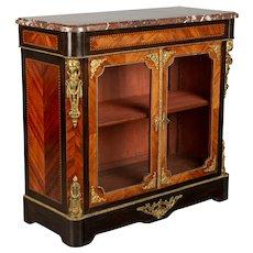 19th Century Napoleon III Cabinet or Vitrine