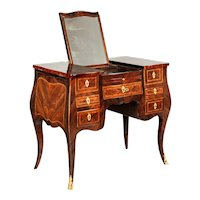 18th Century Louis XV Marquetry Dressing Table