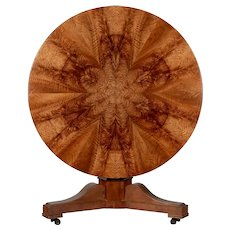19th Century Louis-Philippe Style Tilt Top Gueridon