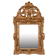 French Regence Style Gilded Parclose Mirror