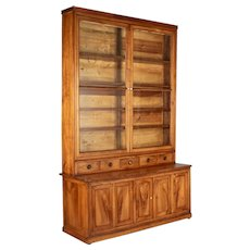 19th Century Louis Philippe Display Cabinet or Bibliotheque