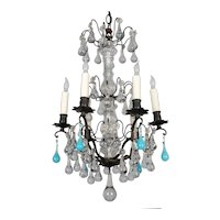 French Louis XV Style Crystal Chandelier