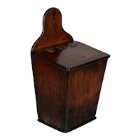 Early 19th Century French Boite à Sel or Salt Box