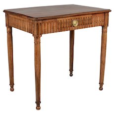 19th Century Louis XVI Style Country French Writing Table