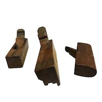 Set of 3 French Woodworking Planes