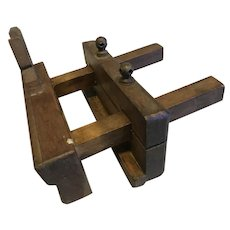 1900's French Woodworking Plane
