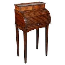 19th Century Country French Roll Top Desk