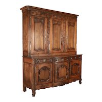 18th Century Country French Buffet a Deux Corps
