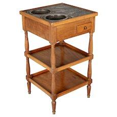 19th Century Louis Philippe Style Rafraichissoir Side Table