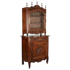 19th Century French Provençal Cabinet and Verrio