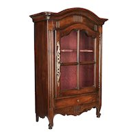 18th Century French Verrio or MIniature Armoire