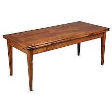 Country French Cherry Farm Table or Extension Dining Table
