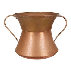 French Copper Pitcher or Vase