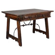 18th Century Spanish Baroque Writing Table