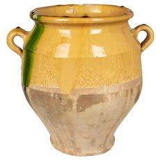 19th c. French Terracotta Confit Pot