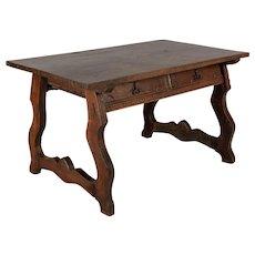 19th Century Spanish Baroque Writing Table