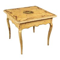 19th Century Country French Painted Table