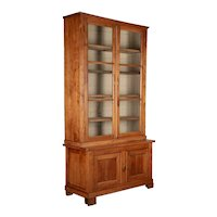 19th Century Country French Display Cabinet or Bibliotheque