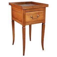 19th Century Louis XV Style Walnut Side Table