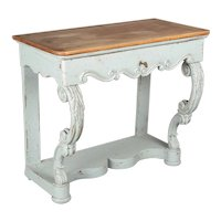19th Century French Country Painted Console