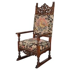 Louis XIII Style Fauteuil or Armchair