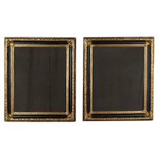 Pair of 19th Century Continental Mirrors