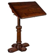 19th Century Adjustable Tray Table