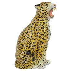 Italian Ceramic Leopard