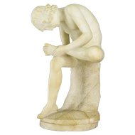 19th c. French Alabaster Sculpture