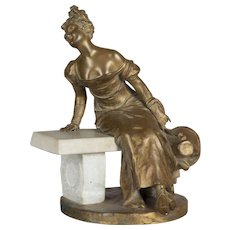 French Bronze by Georges Van der Straeten