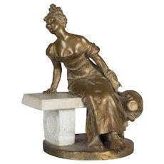 French Bronze by Georges Van der Straeten