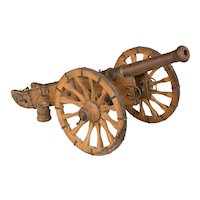 French Miniature Model Cannon
