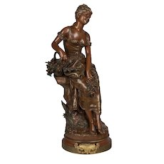 French Bronze by Hippolyte Francois Moreau