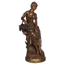 French Bronze by Hippolyte Francois Moreau