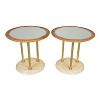 Pair of French Art Deco Tables