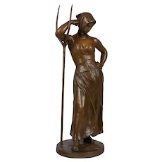 French Bronze by Alfred Boucher