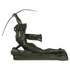 French Art Deco Bronze by Marcel André Bouraine