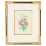 French Botanical Print