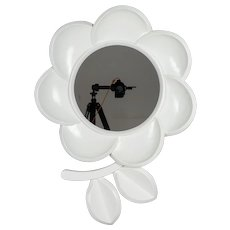 Mid Century Modern Pop Art Flower Mirror
