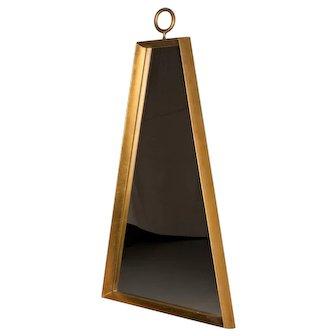Parzinger Style Trapezoid Giltwood Mirror